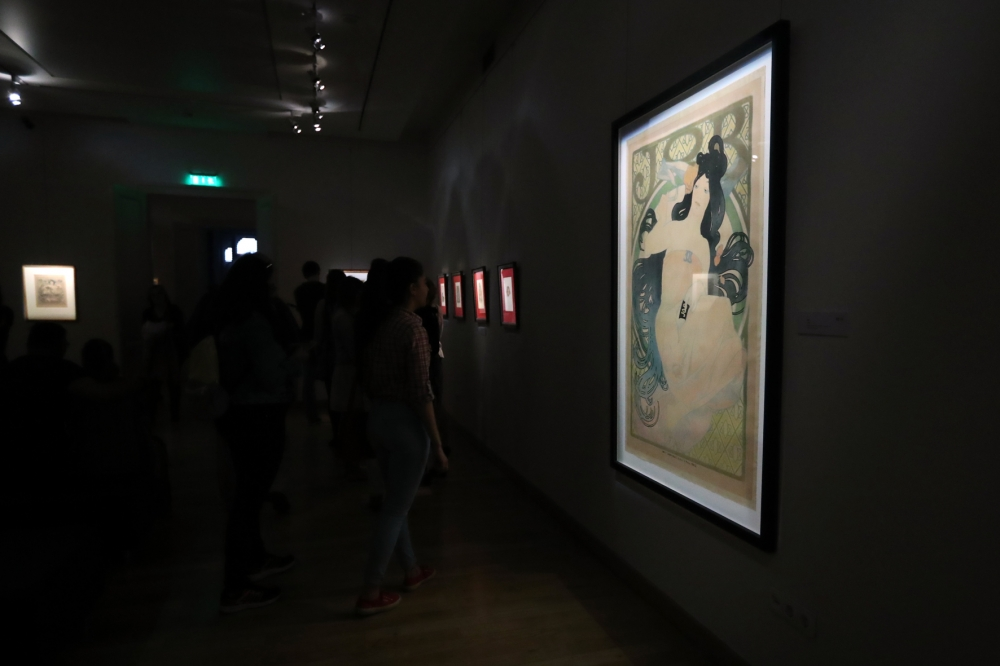 First week of REÖK's Mucha exhibition an incredible success