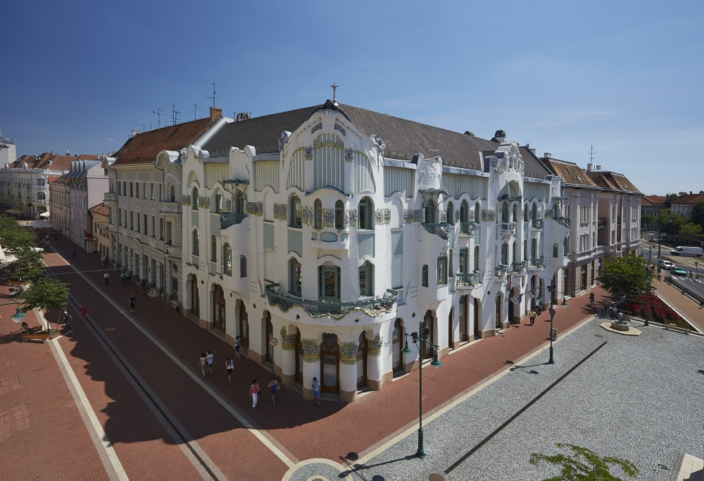 The most beautiful palace of Szeged