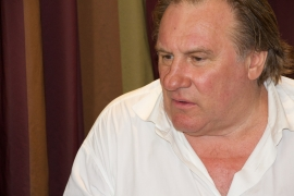 Depardieu signed his contract to play at Szeged